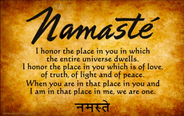 The Meaning Of Namaste Many Translations One Universal