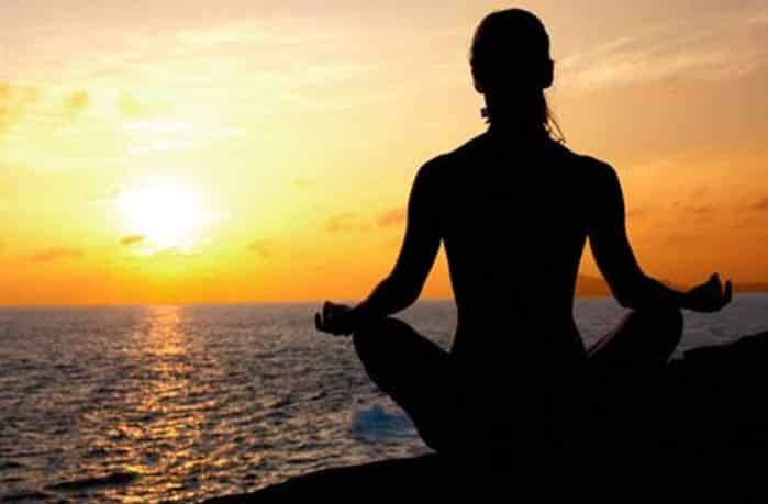 Reciting mantras allows for self-acceptance and inner peace