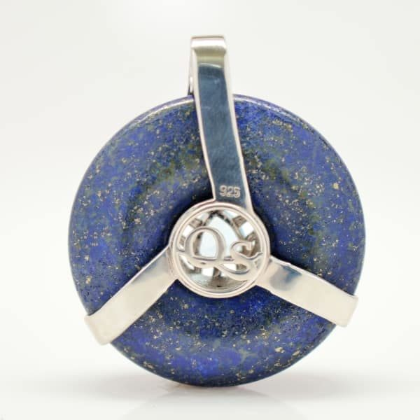 Lapis Lazuli w/Blue Topaz (Back View)