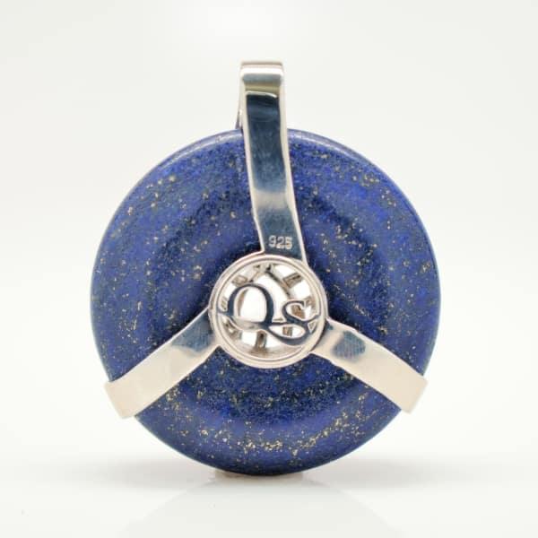Lapis Lazuli w/Clear Quartz (Back View)