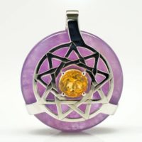 Amethyst w/Citrine (Front View)