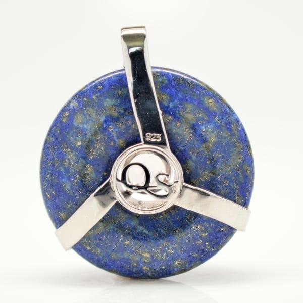 Lapis Lazuli w/Rose Quartz (Back View)