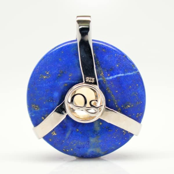 Lapis Lazuli w/Citrine (Back View)