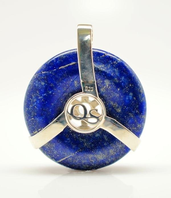 Lapis Lazuli w/Blue Topaz (Back)