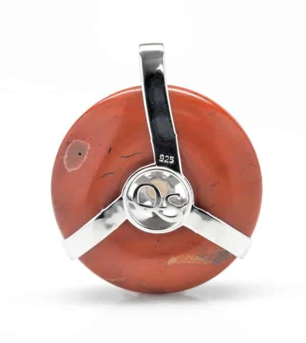 Red Jasper w/Smokey Quartz SOL Amulet (Back)