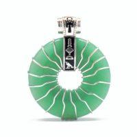 Green Aventurine – Solar Egyptian Amulet (Front)