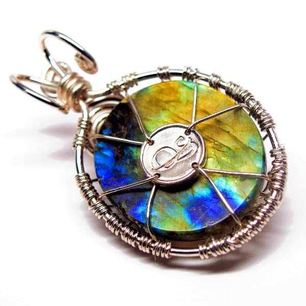 Rainbow Labradorite – Tree of Prosperity