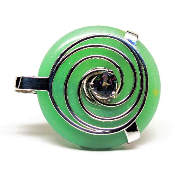 Green Aventurine w/Mystic Green Quartz