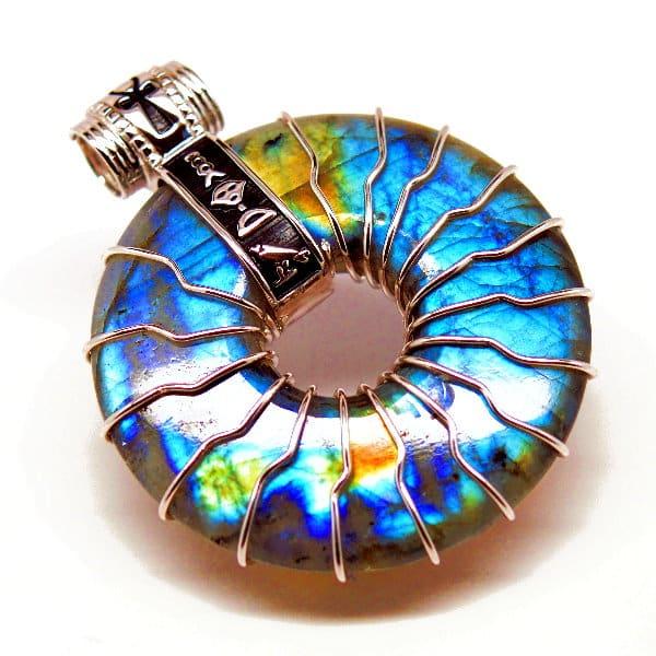 Solar Rainbow Labradorite F