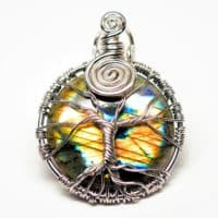 Rainbow Labradorite - Tree of Life