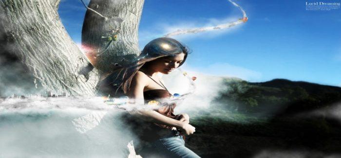 lucid dreaming girl