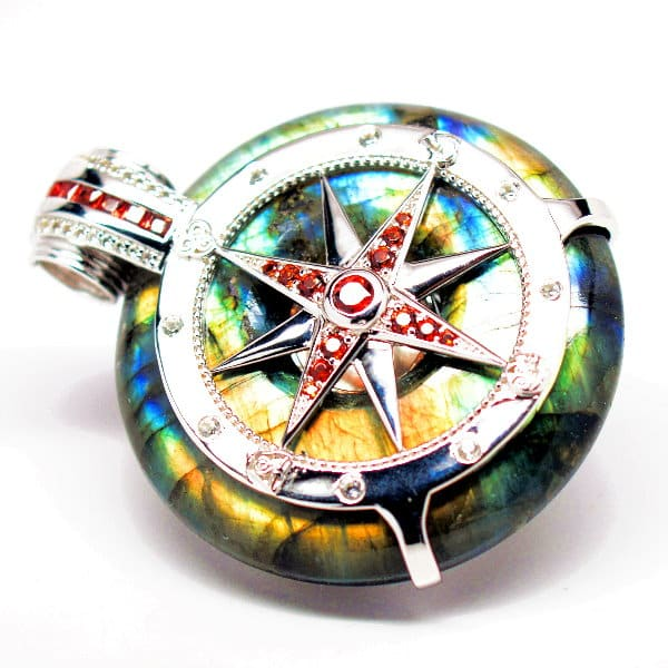 Galactic Compass Front View
