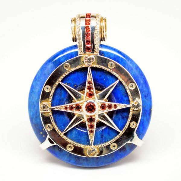 Lapis Lazuli - Galactic Compass Front View