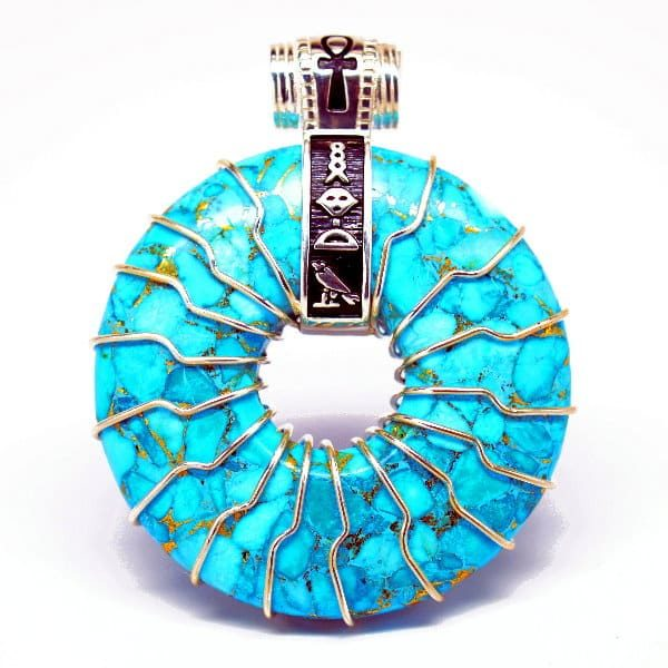 Turquoise Front View