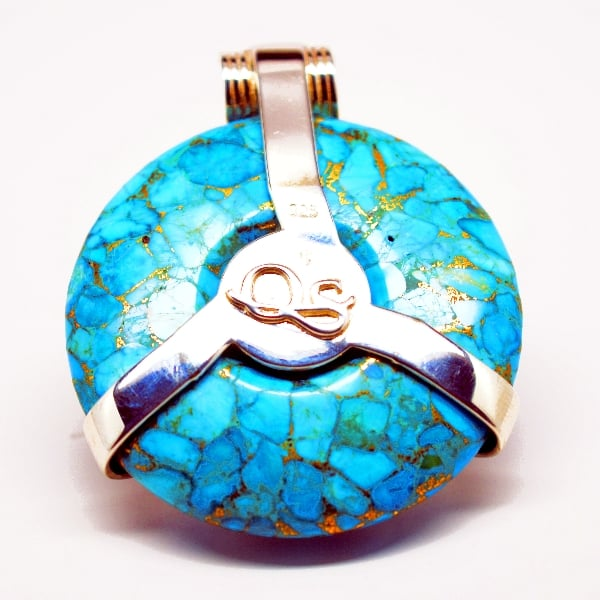 Turquoise Moon Scarab