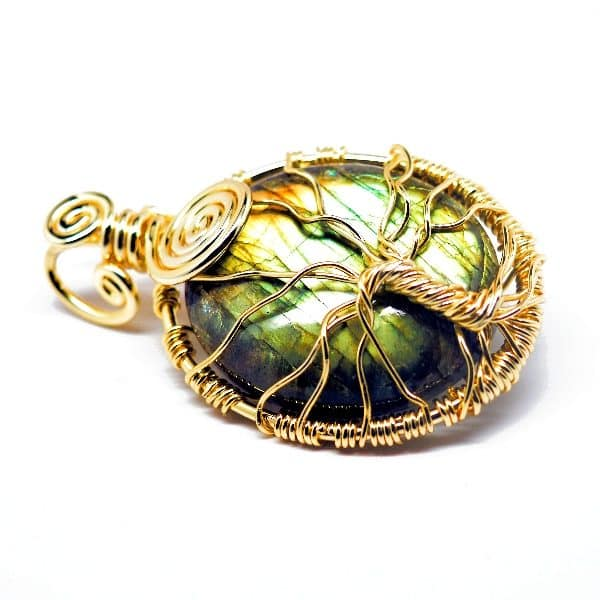 Rainbow Labradorite – Tree of Prosperity