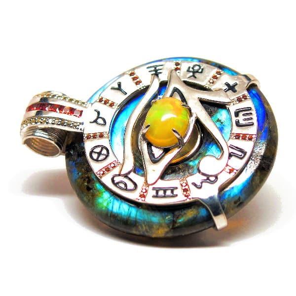 Rainbow Labradorite w/ Opal Eye