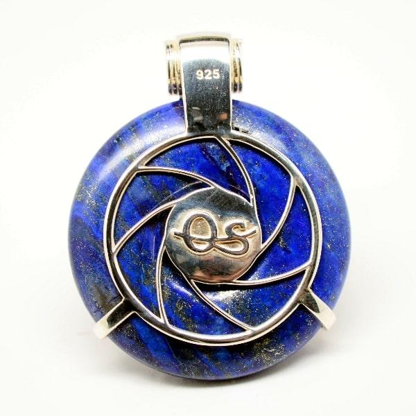 Lapis Lazuli Moonstone Eye of Horus