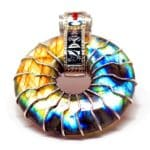 Rainbow Solar Egyptian Amulet