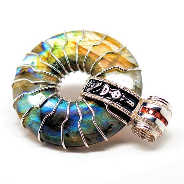 Rainbow Solar Egyptian Amulet