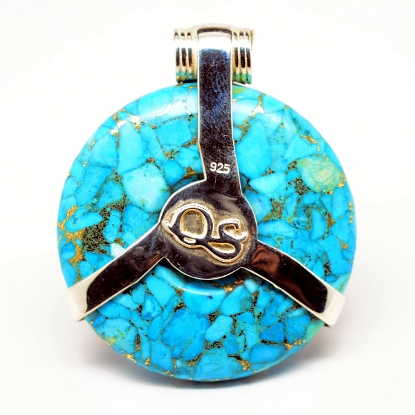 Turquoise Moonstone Eye of Horus
