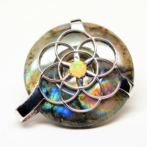 Rainbow Labradorite w/Opal
