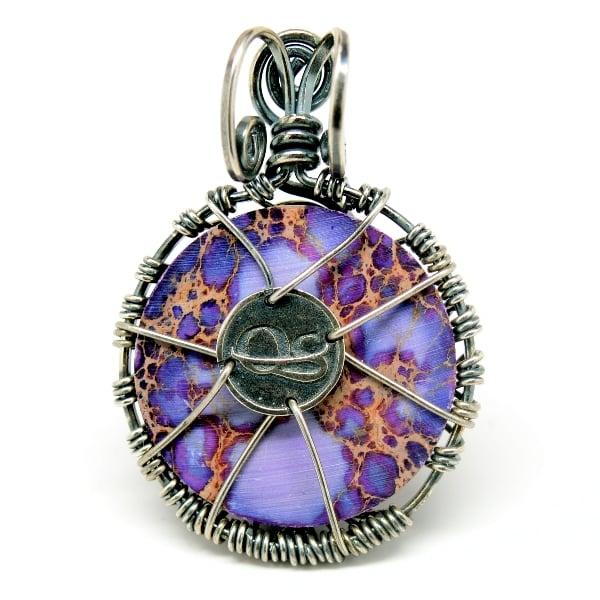 Tree of Romance Purple Imperial Jasper Amulet