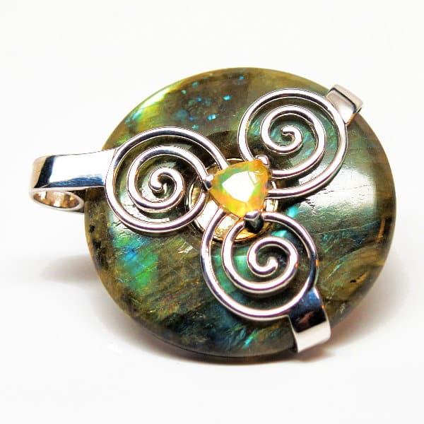 Triskelion Amulet