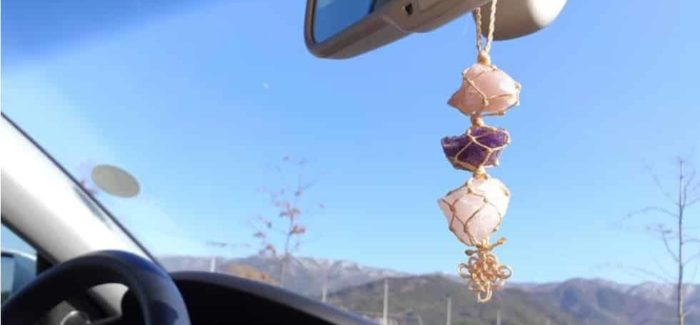 Crystals in Your Car